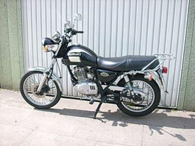 Suzuki tu-x 125 cafe racer - YouTube