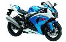 Suzuki  GSX-R 1000 K9/L0/L1