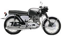 Honda  CB 72 DREAM