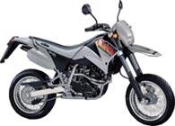 KTM  640 LC4-E SUPERMOTO